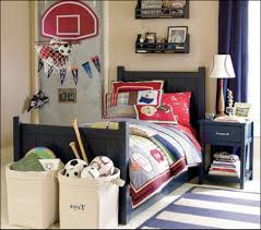 bedroom fetching design using basketball themed bed room ideas