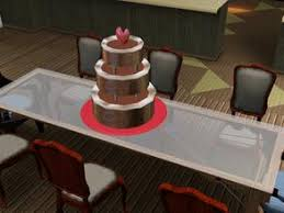 wedding cake in the sims 4 sims 3 downloads cake