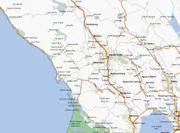 sonoma california map description of bike rides in sonoma county