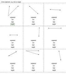 lines rays and line segments worksheets rays and angles printables worksheets and lessons