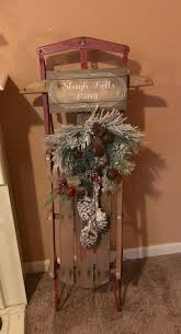 best 25 christmas sled ideas on pinterest sled decor christmas