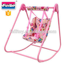 swing set for babies feili toys baby doll swing with pink metal tube doll swing set