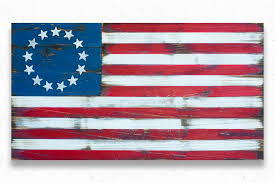 wooden american flag wall patriot wood wood flags and wall made by