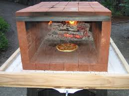 Brick Oven Backyard by Tinkering Lab Portable Pizza Oven Outside Living Pinterest