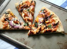 California Pizza Kitchen Tostada Pizza Bbq Chicken Pizza Haute Pepper Bites
