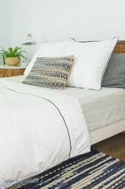 Midcentury Modern Bedding - switching gears in the master bedroom with bedding bigger than