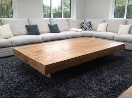 large coffee table ottoman writehookstudio com