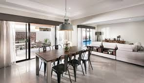 display home interiors wellard display home perth industrial dining room perth by