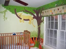 Safari Themed Nursery Decor Jungle Themed Nursery Murals Nursery Murals And More Kid S