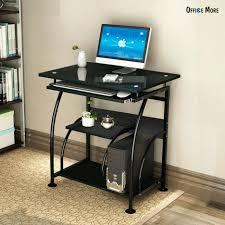 Computer Desk Workstation Desk Micke Computer Work Station Black Brown Width 41 3 8 Depth