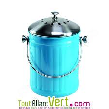 acheter poubelle cuisine poubelle à compost bleu anti odeur pour cuisine 4 litres achat