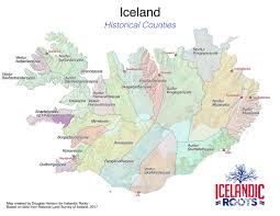 Iceland On Map Understanding Icelandic Places Part I Icelandicroots