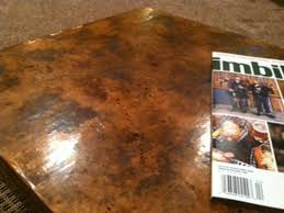 basic copper copper coffee table by bill carmichael