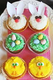 Cake Decorations For Easter Cakes by 21 Cute Easter Cupcakes Easy Ideas For Easter Cupcake Recipes