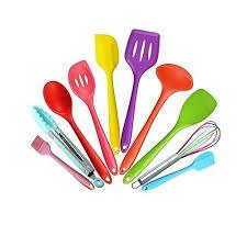 ustensile de cuisine silicone ustensiles de cuisine silicone amazon fr