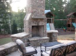 outdoor fireplaces fire pits natural stone outdoor kitchens