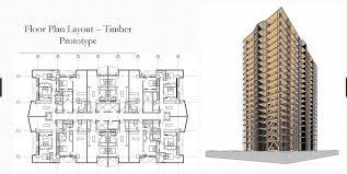 high rise floor plans john a martin u0026 associates inc mass timber high rise design