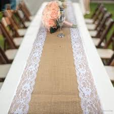 natural burlap table runner natural burlap table runner hessian vintage tablecloth cover with
