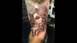 cool sparrow tattoos terry bradley fan tattoos youtube