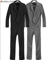 mens black jumpsuit s fashion overalls pant dungarees casual brand one