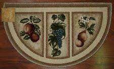 kitchen rugs fruit design kitchen design