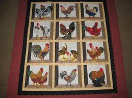 free chicken applique patterns had only been quilting for about