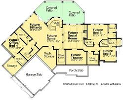Luxury Ranch Floor Plans 6 20 Home Plans With A Great Indooroutdoor Connection Luxury Ranch