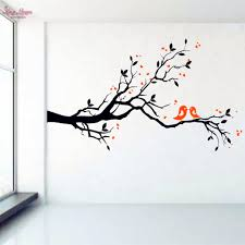 compare prices on vinyl wall art decal online shopping buy low birds on tree branch vinyl wall decal wall art decorative sticker glass window stickers