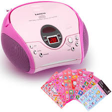 cd player für kinderzimmer kinder mädchen stereoanlage cd player mp3 real
