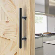 Install Sliding Barn Door by Black Steel Barn Door Handle Sliding Wood Door Handle Barn Door