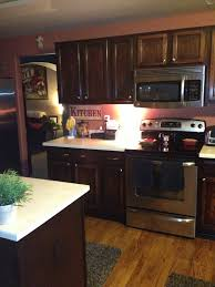 Refinishing Kitchen Cabinets With Stain Applying Easy Gel Stain Kitchen Cabinets All Home Decorations
