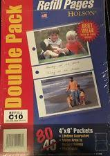 holson photo album refill pages photo pages sheets sleeves in type photo sleeve s ebay