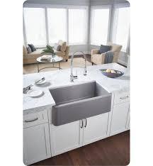 blanco ikon apron sink blanco 401988 ikon 33 single bowl farmhouse front apron silgranit