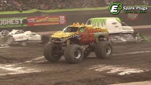 what happened to bigfoot the monster truck tmb tv highlights toughest monster truck tour grand forks nd