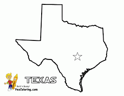 texas coloring pages fablesfromthefriends com