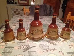 bells whiskey ornamental bottles in draperstown county