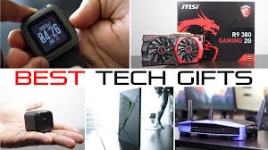 top tech gifts 2016 best tech gifts under 200 holiday gift guide 2015 youtube