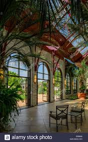 Kansas City Botanical Gardens by Landscape Of A Tropical Garden In The City Old Goa India A Stock