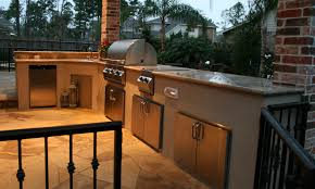 Outdoor Fireplace Houston by Houston Outdoor Kitchens Spring Photos The Woodlands Arbor