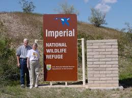 National Park Ranger Resume Imperial National Wildlife Refuge Beside Entrance Sign To