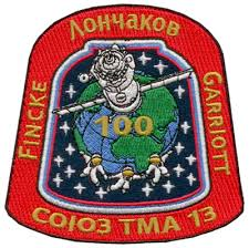 www spacepatches nl iss soyuz tma 13 garriott