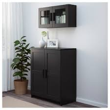 brimnes cabinet with doors black ikea