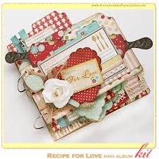 scrapbook album kits paisleys polka dots 4 new february 2014 mini album scrapbook