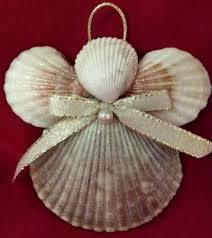 Glitter Spray For Christmas Decorations by How To Make Seashell Christmas Ornaments Holidappy