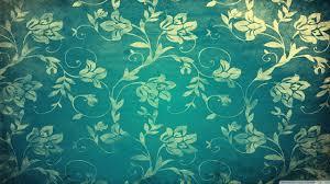 vintage floral wall hd desktop wallpaper high definition