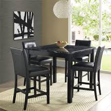 Dining Room Pub Sets Dining Tables Square Counter Height Table Black High Top Dining