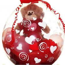 valentines ballons valentines stuffed balloons 18 up sunshines party rentals