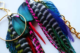 make feather earrings feather earrings glen coco you go london travel food