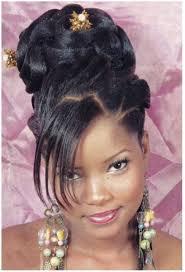 coiffure mariage africaine coiffure de fête les chignons