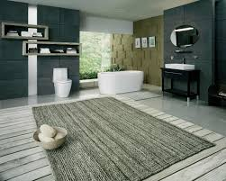 Bathroom Floor Rugs Bathroom Grey Shag Large Bath Rugs For Modern Bathroom Floor Design